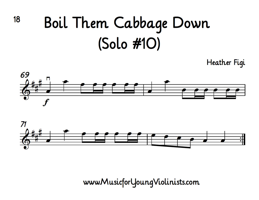Boil Them Cabbage Down