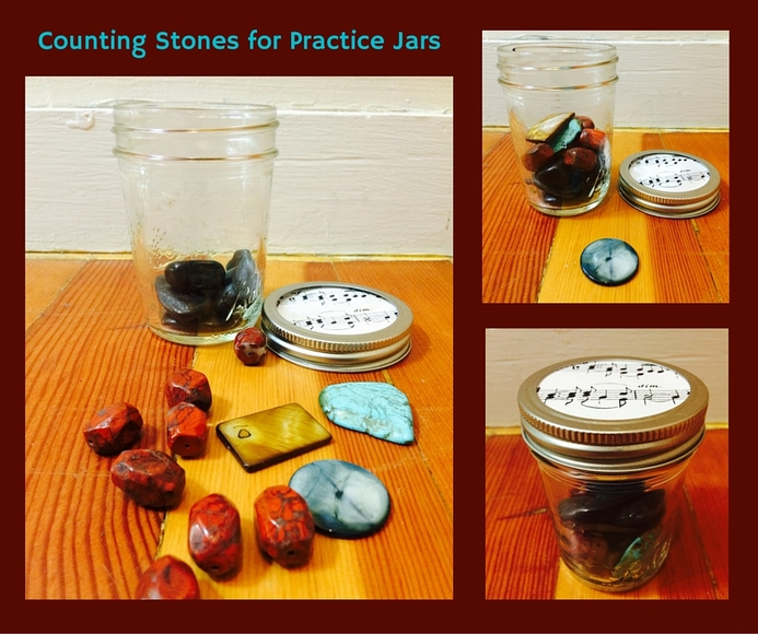 Violin Practice (Counting Stones for Repetitions) #ViolinPractice, #ViolinTeaching, #SuzukiViolin, #FreeViolinMusic www.MusicforYoungViolinists.com