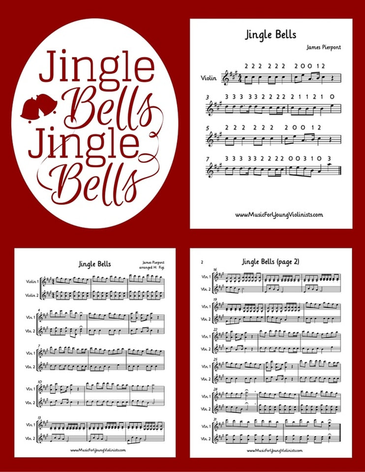 Jingle Bells for Violin