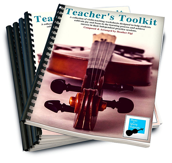 Violin worksheets