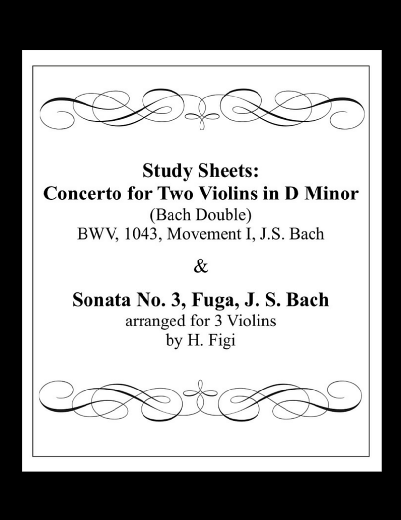 Bach Double Violin Lesson