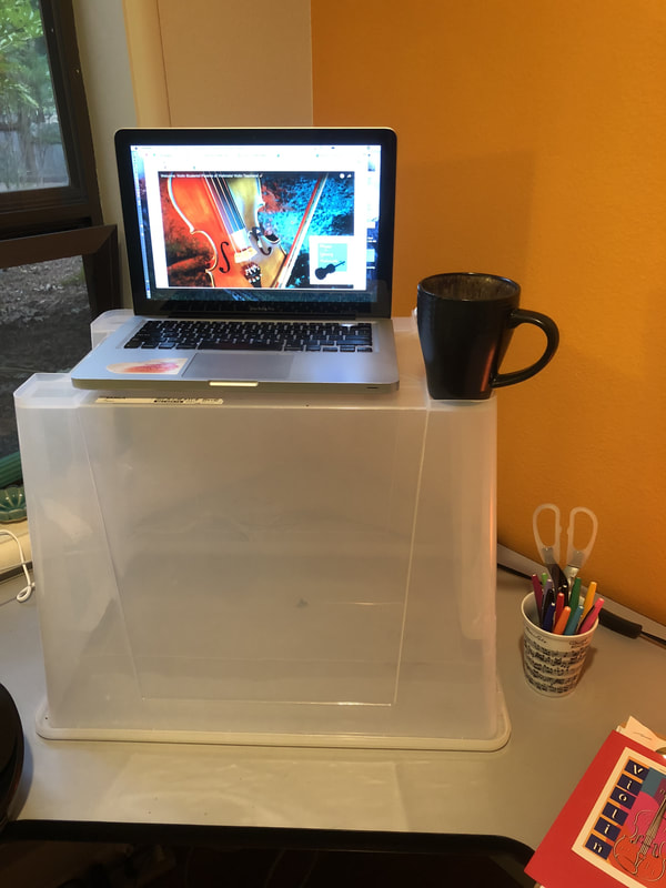DIY standup desk