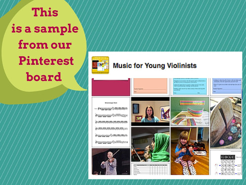 Violin Teaching Resources