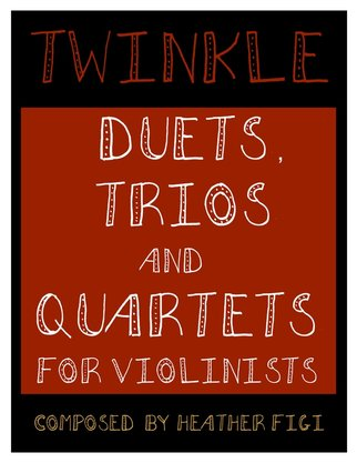 Twinkle Duets for Violin