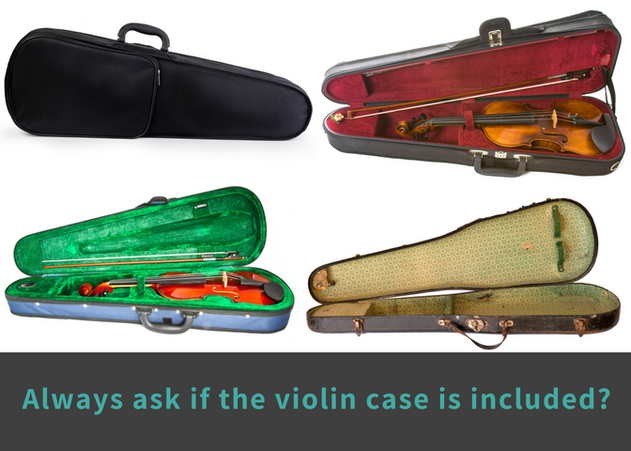 violin include case