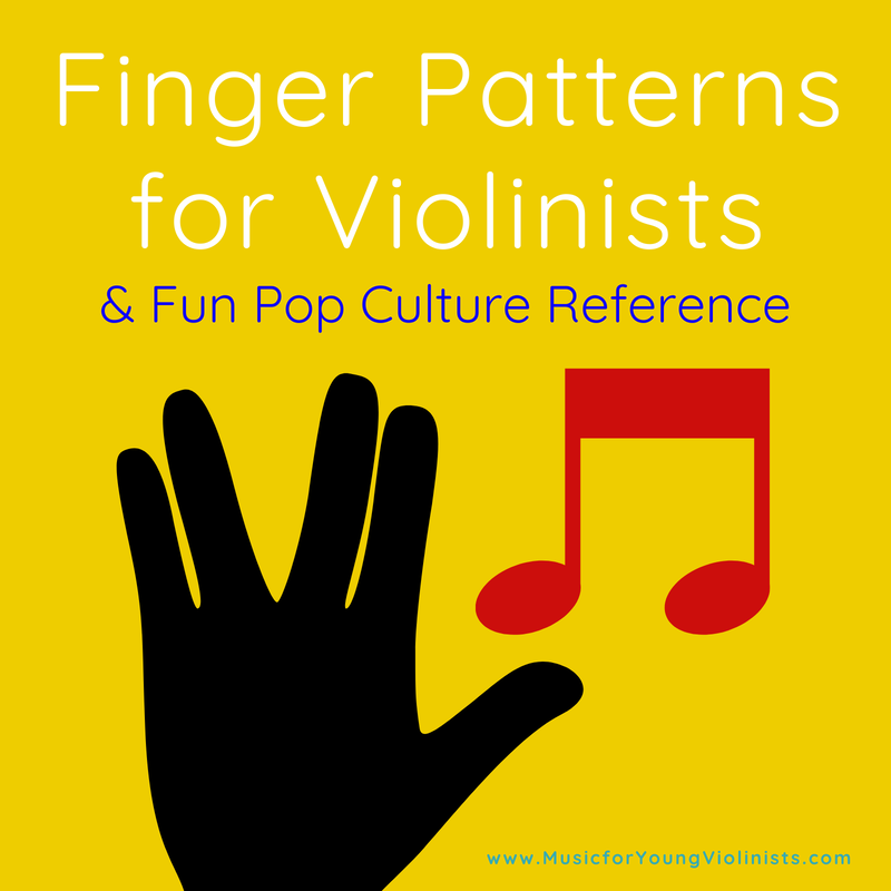 Finger Patterns for Violinists