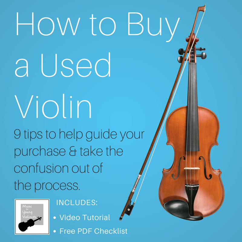 How to Buy Used Violin