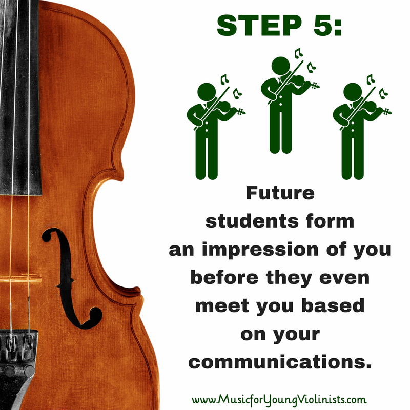 Marketing for Private Music Teachers