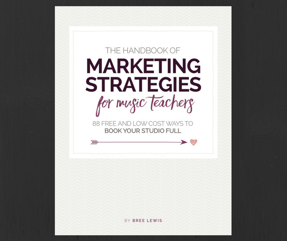 Marketing Strategies for Music Teachers