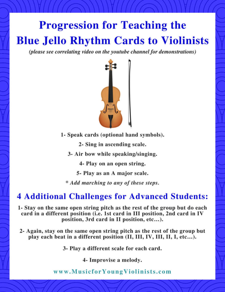 Blue Jello Cards