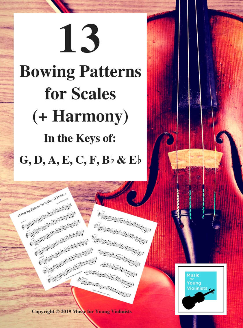Free Download Beginning Violin Scales
