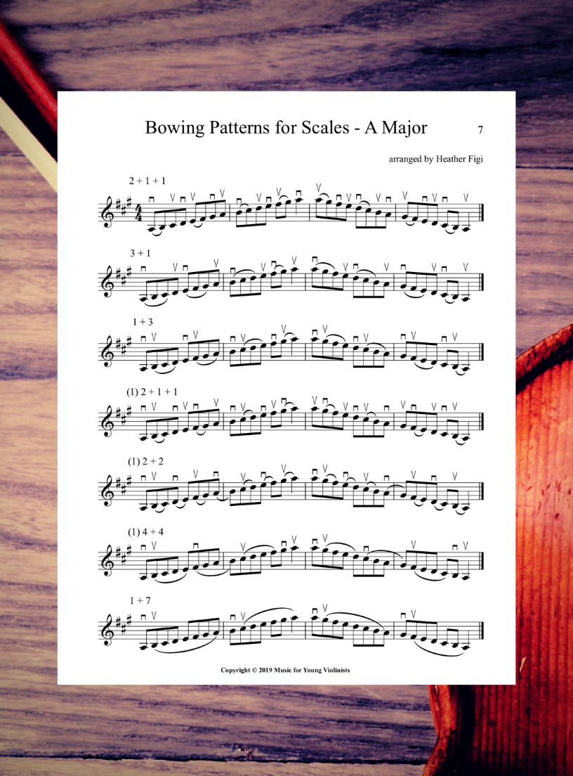 Scales for Violin Free PDF