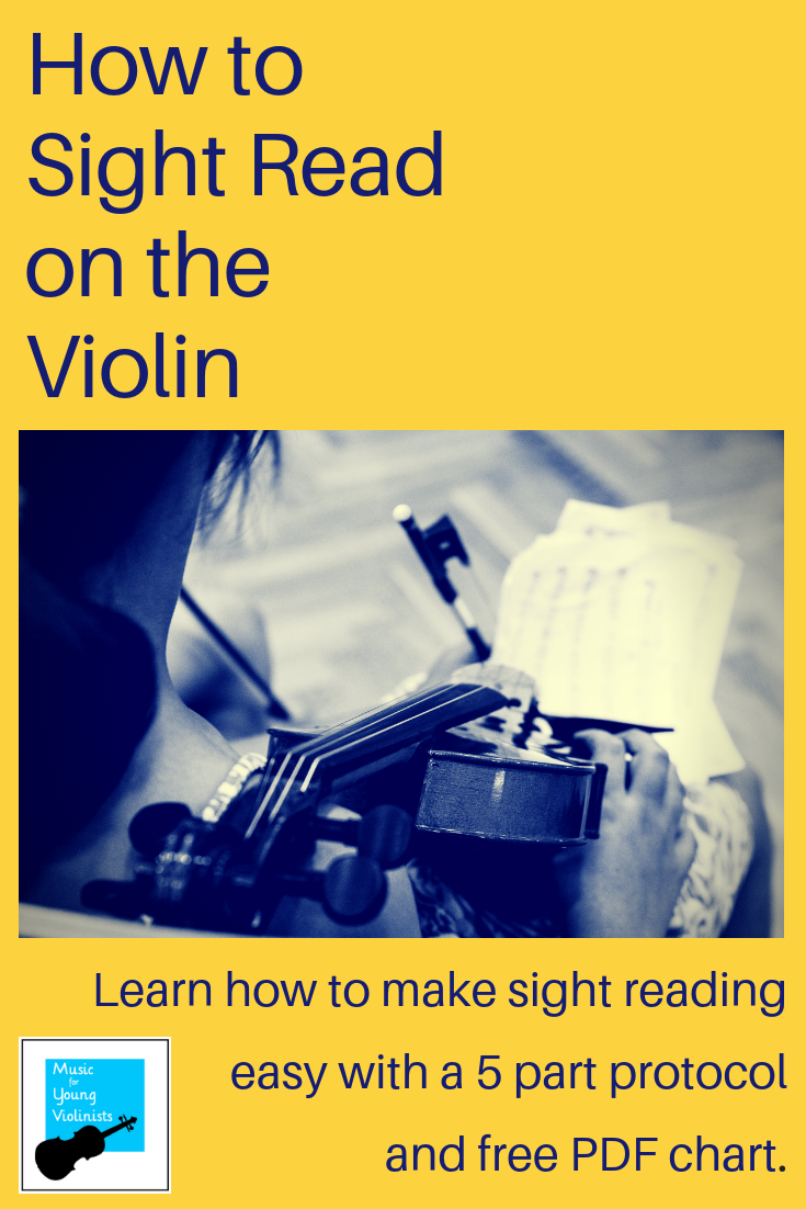 Sight Reading Tips