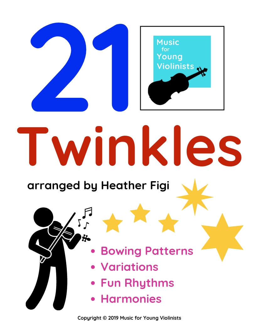 twinkle sheet music violin