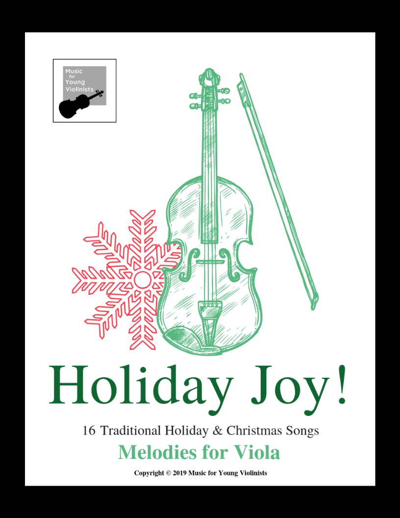 Viola Christmas Sheet Music