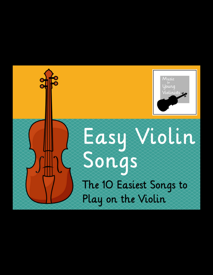 What are easiest songs on violin?